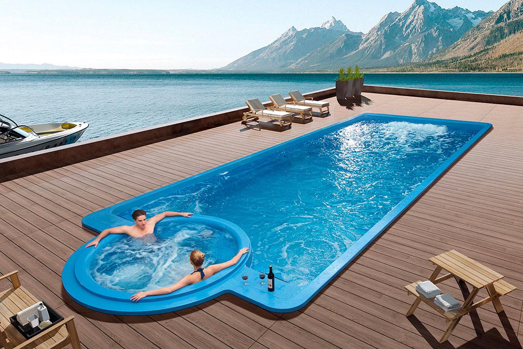 Imagen de la simulación de un swimspa