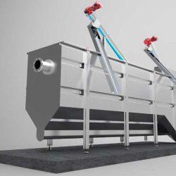 Planta compacta tratamiento de aguas residuales