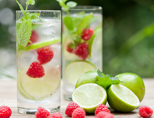 Bebidas con agua osmotizada