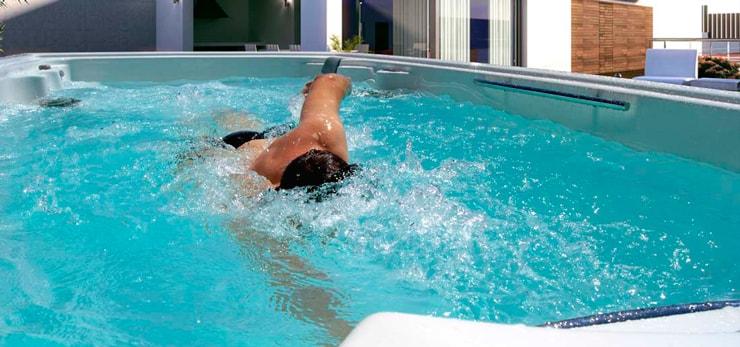 Swim Spa para nadar contracorriente